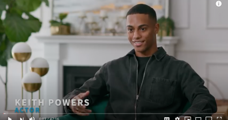 50 Minutes with Actor Keith Powers | JED Voices Interview with Dave Bellevue